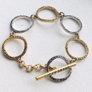 Beautiful lucky brand bracelet